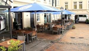 Das Vertigo Flensburg - der Außenbereich